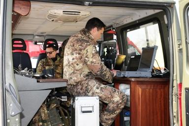 Stazione mobile di controllo