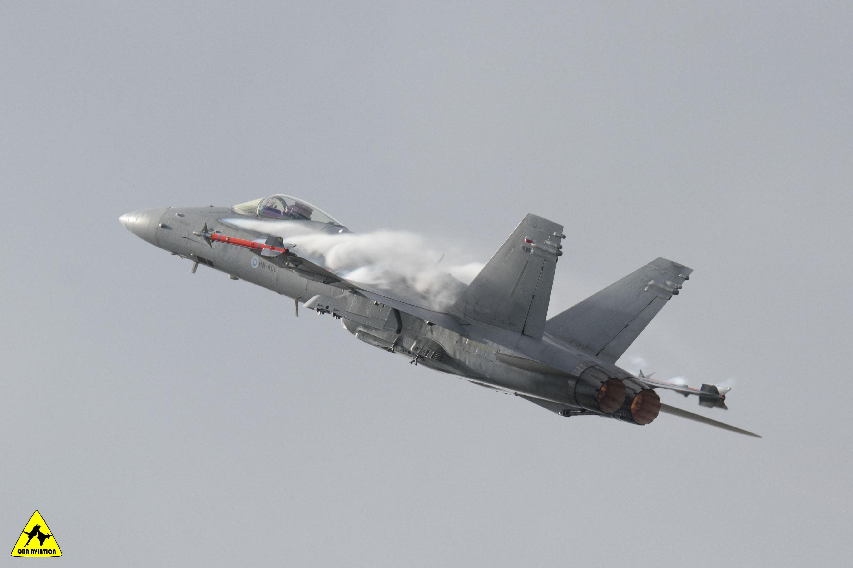 F18 fin